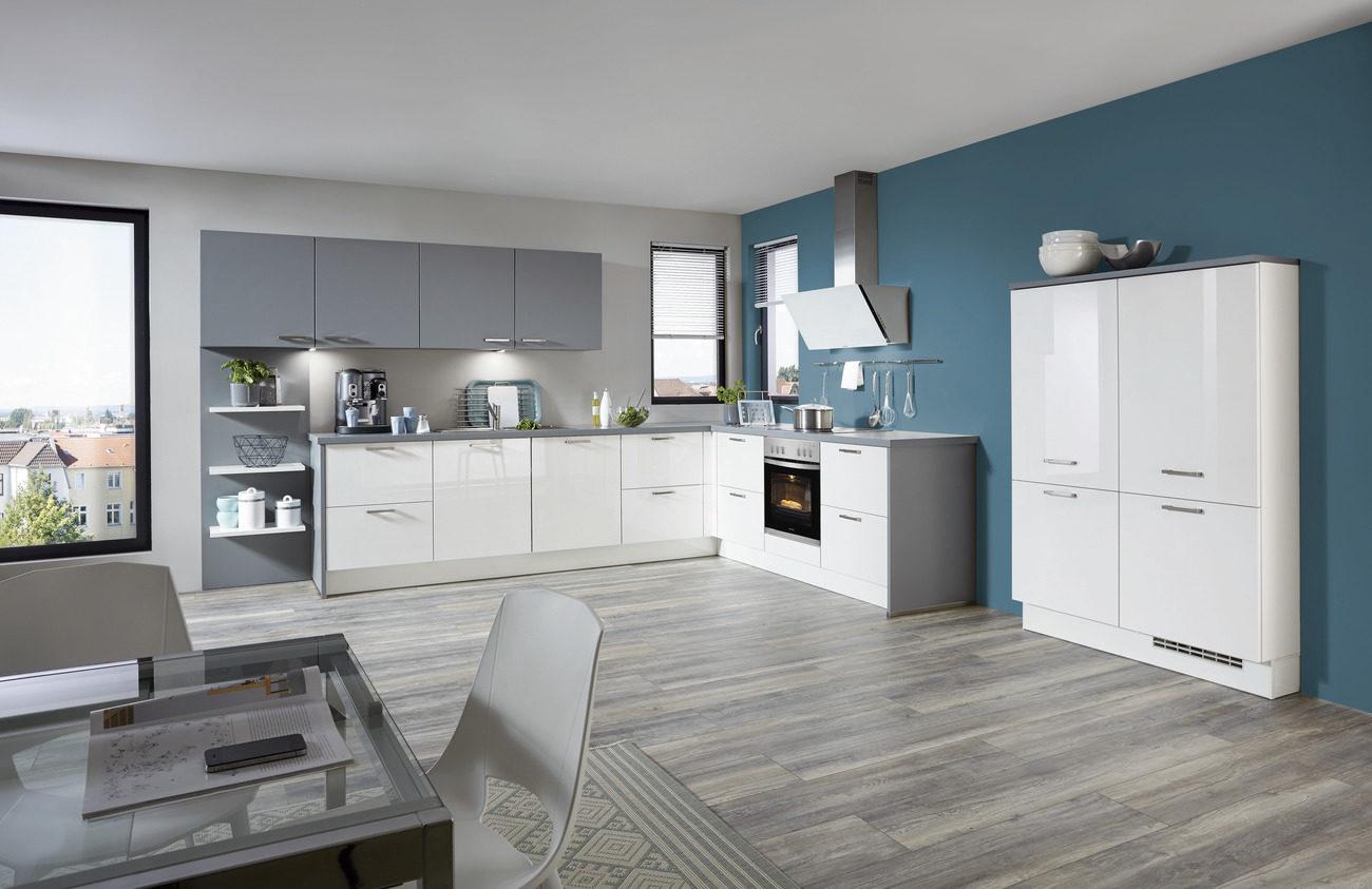 Einbauküche weiß günstig  Wohnkauf Zeller Weilburg, Möbel A-Z, Küchen, Einbauküchen ...