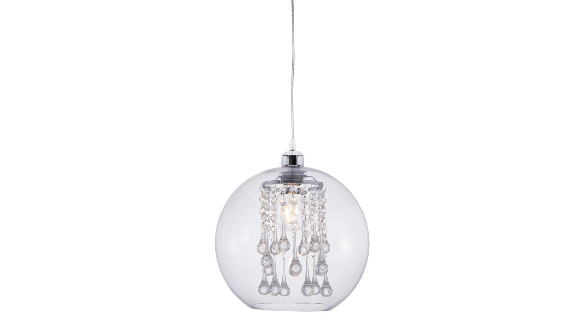... Lampen + Leuchten, Pendelleuchten + Kronleuchter, Pendelleuchte,  Pendelleuchte Bubble, Verchromt U0026 Transparenter Kunststoff U2013 Durchmesser  Ca. 30 Cm