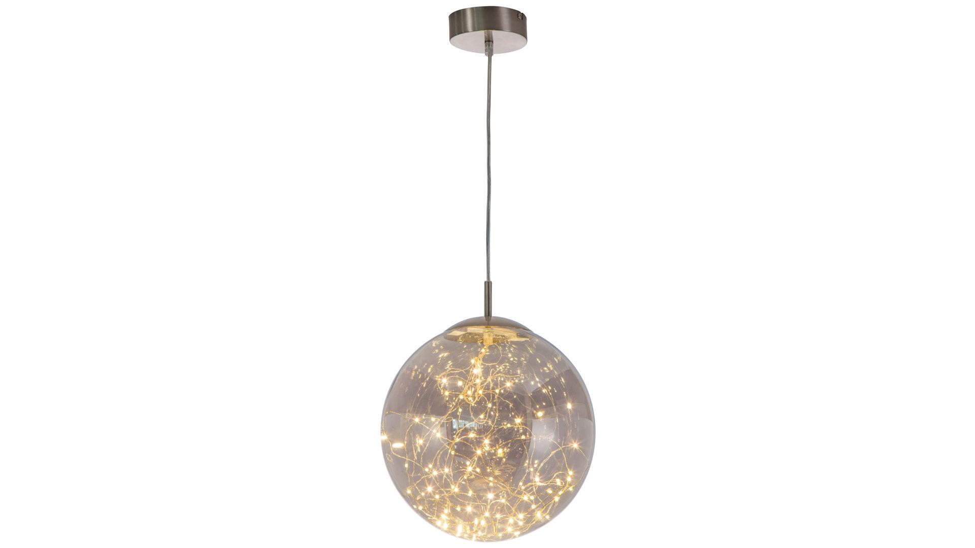 ... Möbel A Z, Lampen + Leuchten, Pendelleuchten + Kronleuchter,  LED Pendelleuchte, LED Pendelleuchte Lights, Nickel U0026 Smokeyfarben U2013  Durchmesser Ca. 30 Cm