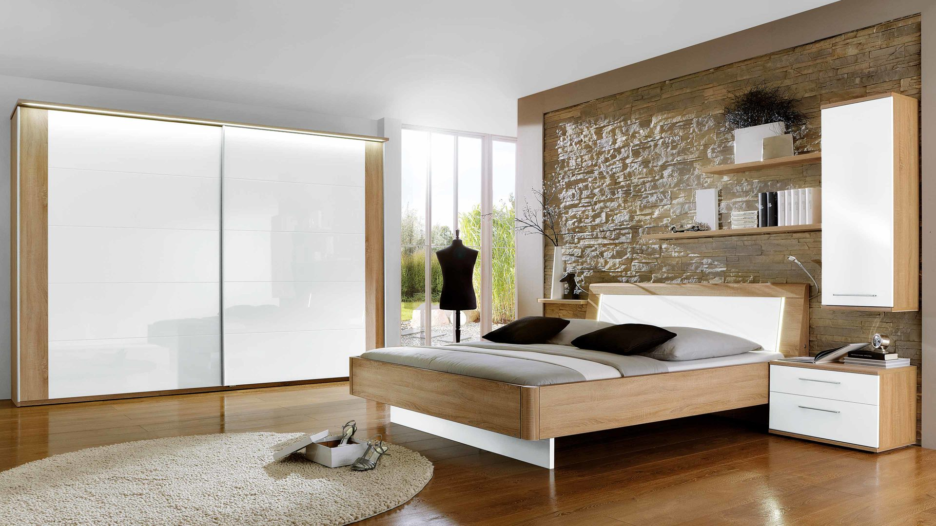 Schlafzimmer Modern Weiß Holz sdatec.com