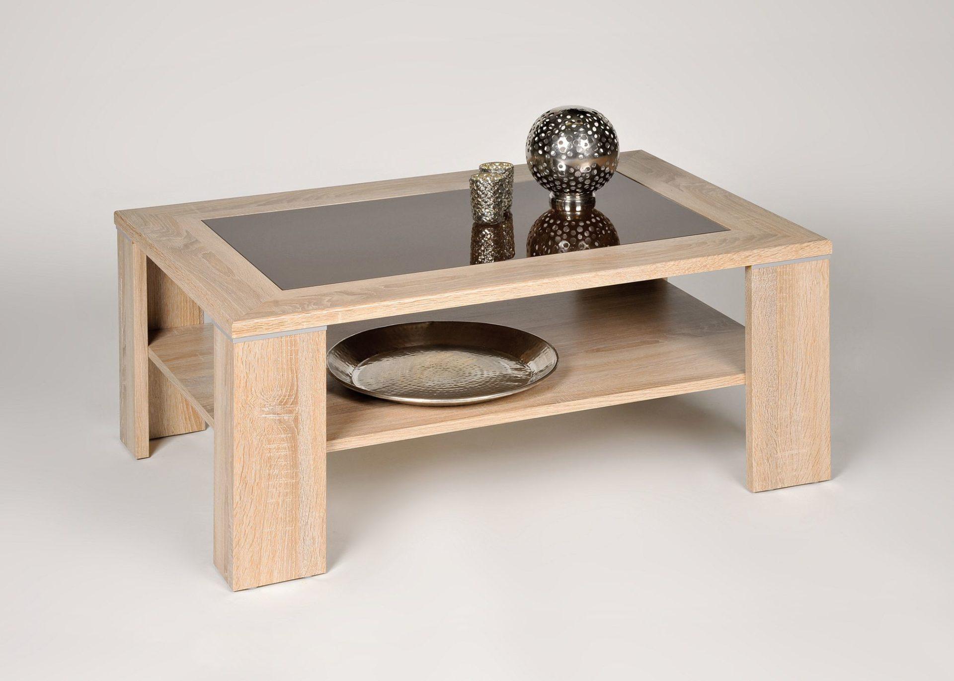 Designer Couchtisch Trend Mobel Wohnzimmertisch Aus Holz Glas