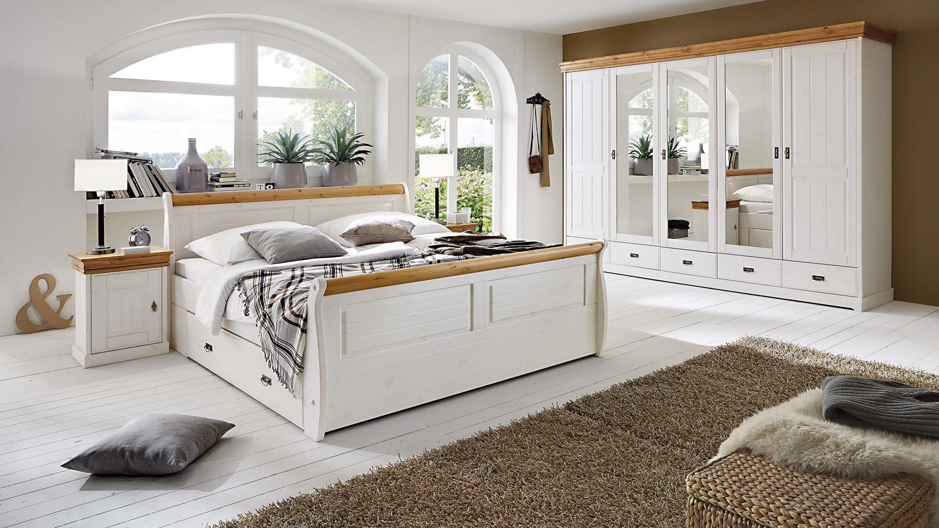 wohnkauf zeller weilburg | 3s frankenmöbel schlafzimmer im ... - Landhaus Schlafzimmer Weiß